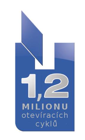 Konstrukce testována na 1,2 milionu cyklů