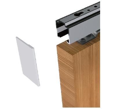 Boční krytka lišty pro posuvné dveře Sudmetal Set D E  fdfd510dce